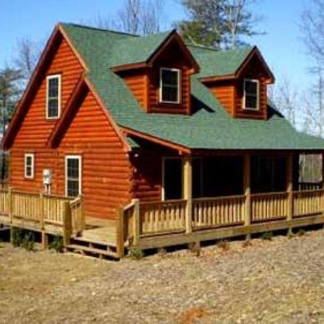 It S Like A Real Life Lincoln Log Home Log Cabin Homes Cabin Homes Log Homes