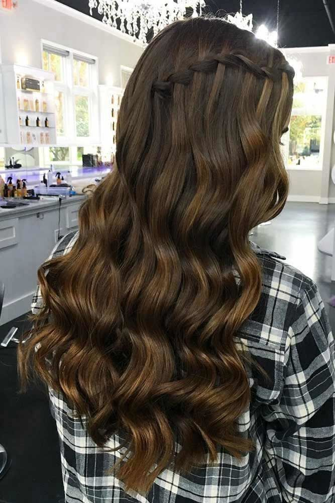 Learn How to Do a Waterfall Braid | LoveHairStyles.com,  #Braid #Learn #LoveHairStylescom #Waterfall