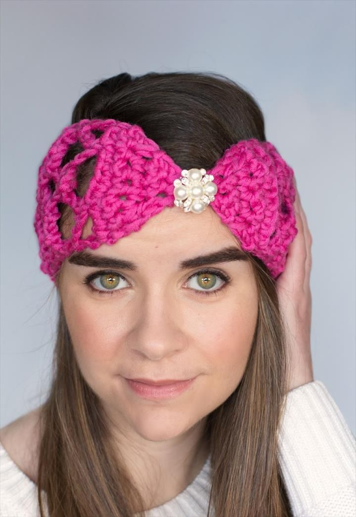 32 Crochet Headband Design & Ideas
