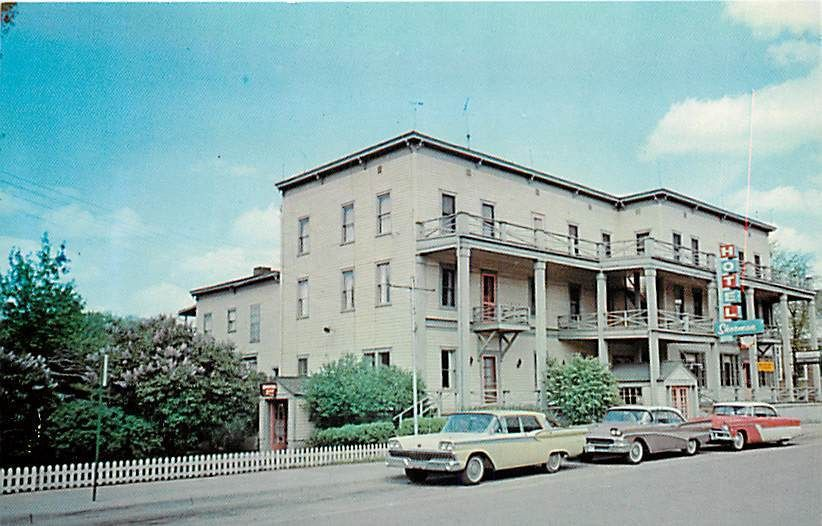 The Hotel Sherman Long Gone Now It Was In Decline When I A Kid But Still Served As Greyhound Bus Station
