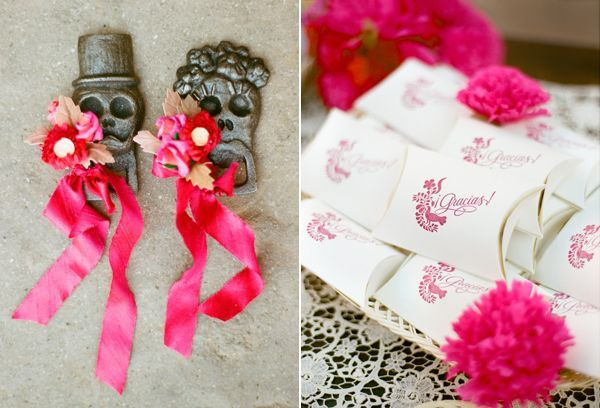 Happy Cinco De Mayo! Beautiful Mexican wedding details from @inspiredbythis