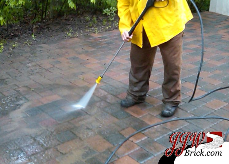 The importance of power washing your brick pavers before