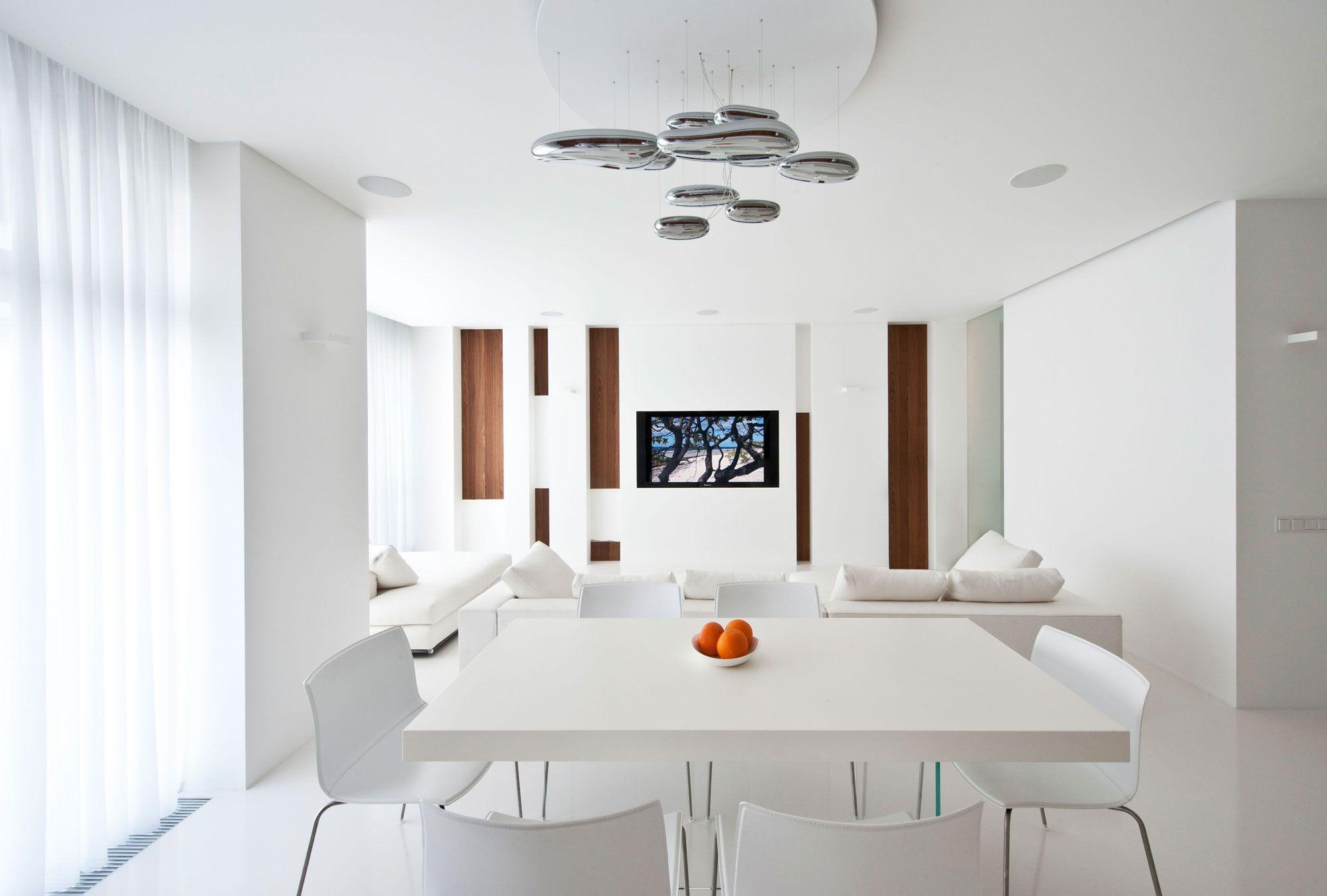 Modern White Apartment Interior by Alexandra Fedorova (5)   Interior ...