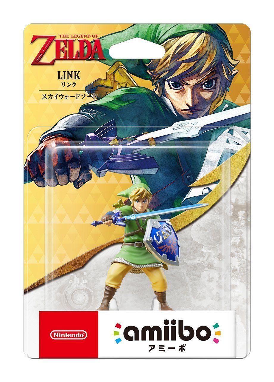 New Nintendo 3ds Amiibo Link Skyward Sword The Legend Of Zelda