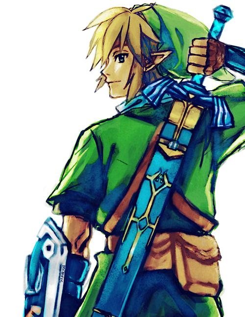 The Legend Of Zelda Fan Art Link Legend Of Zelda Legend Skyward Sword