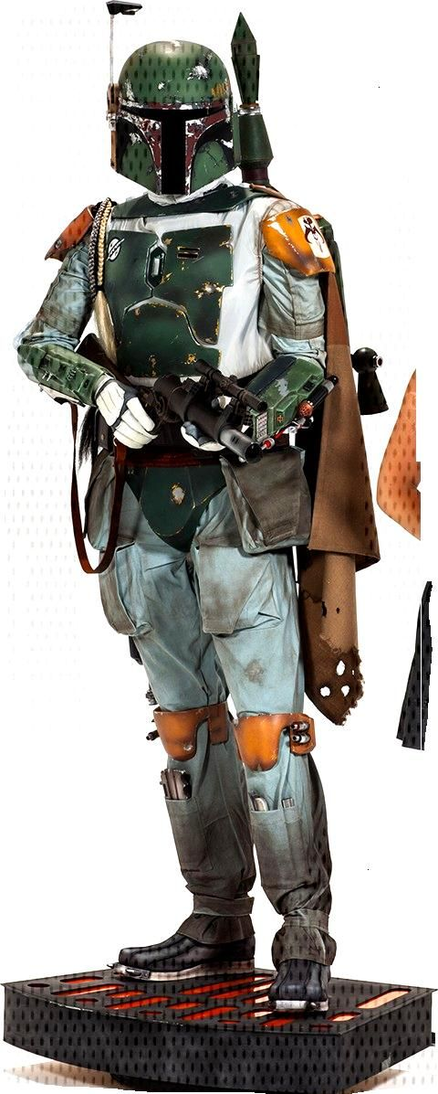 Star Wars Boba Fett Life-Size Figure by Sideshow Collectible   Sideshow - W.B.