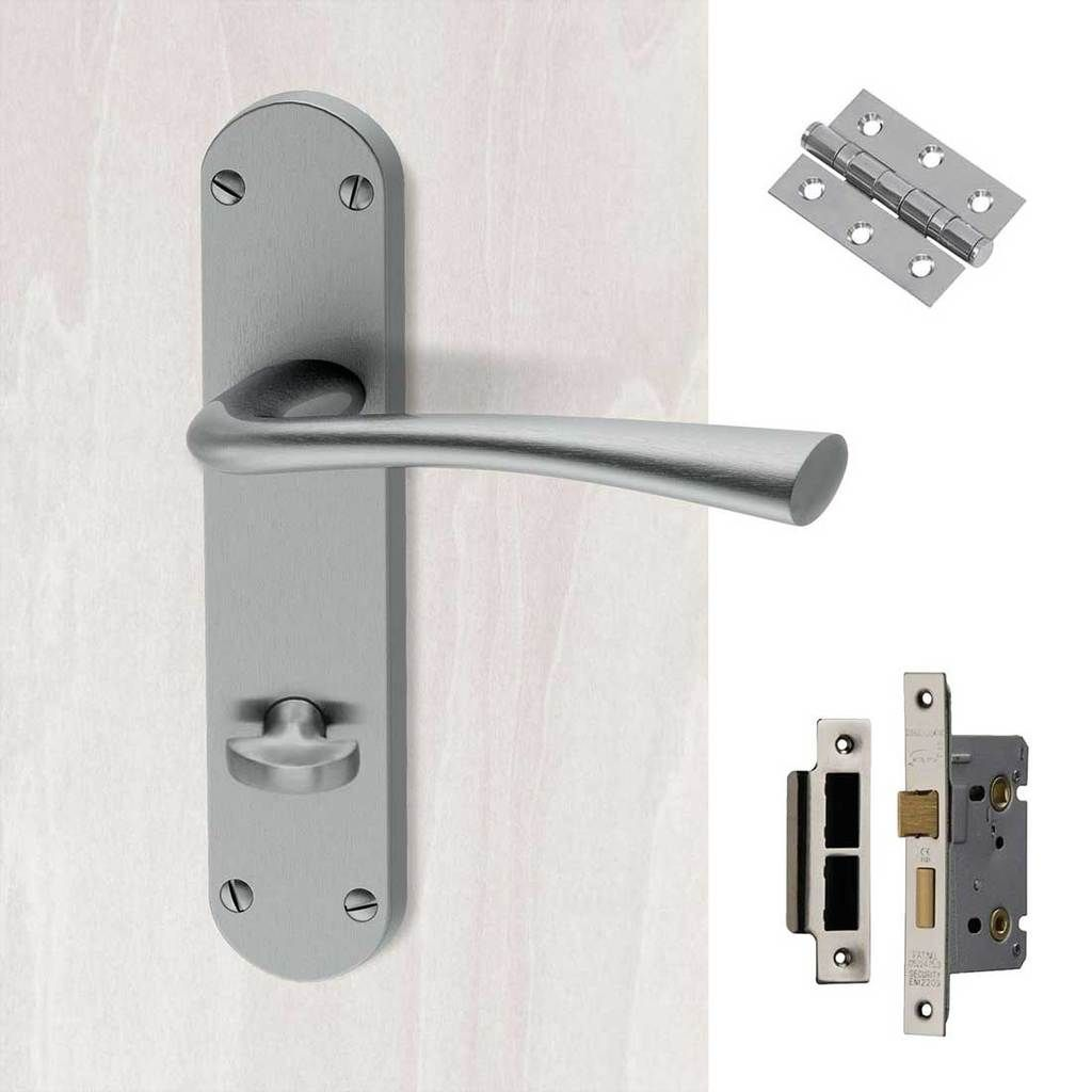 We Deliver Anywhere In: Neva Bathroom Plate Handle Pack In 2019