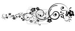 """Stickers """"swirl, spring, decor - floral tattoo"""" ✓ Easy Installation ✓ 365 Day Money Back Guarantee ✓ Browse other patterns from this collection!"""