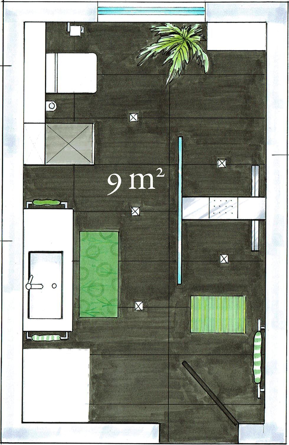 Wohnideen Raumaufteilung wohnideen interior design einrichtungsideen bilder duschbad