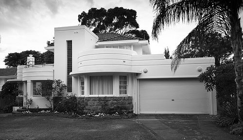 Art deco house ons huis pinterest art deco house art deco and house - Deco modern huis ...