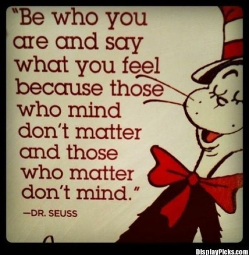 Dr Seuss Say What You Mean And Mean What You Saymatter