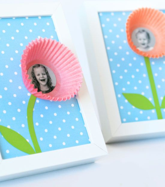 20 diy mothers day craft ideas for kids to make cupcake for Mothers day craft ideas kids