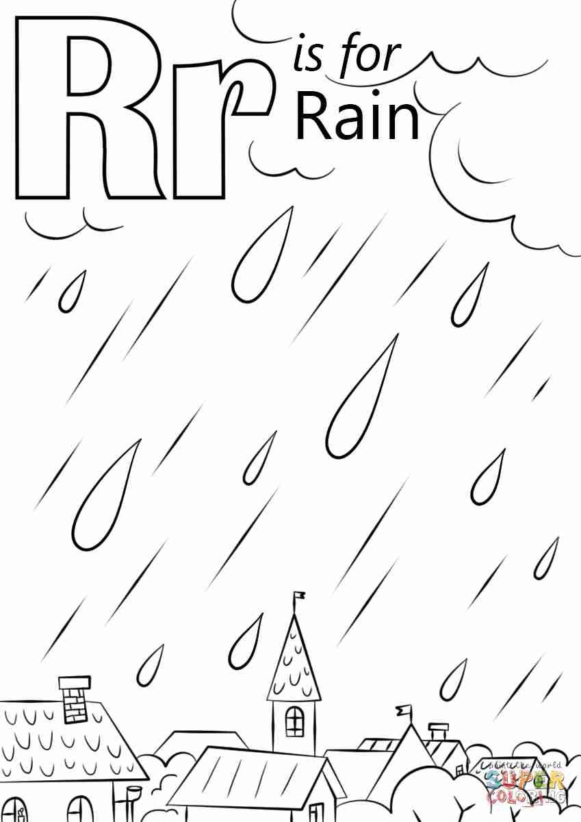 Image Result For Singing In The Rain Coloring Pages Preschool