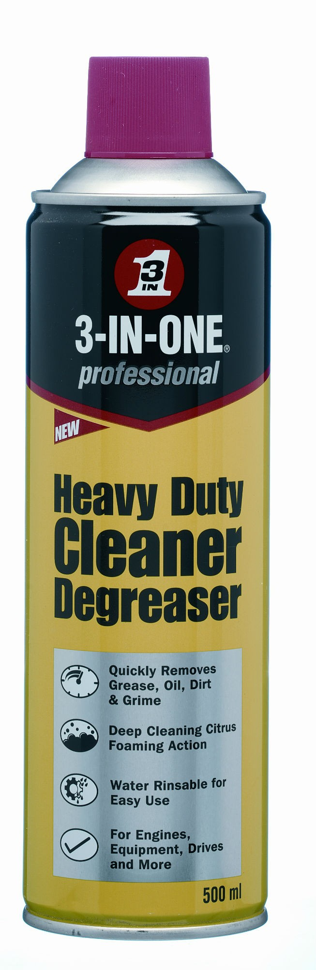 Quickly removes grease, oil, dirt and grime from engines, tools and equipment Works great on lawnmowers, chainsaws, power equipment, automotive and truck engines and parts, as well as gears, chains, pulleys and industrial machinery
