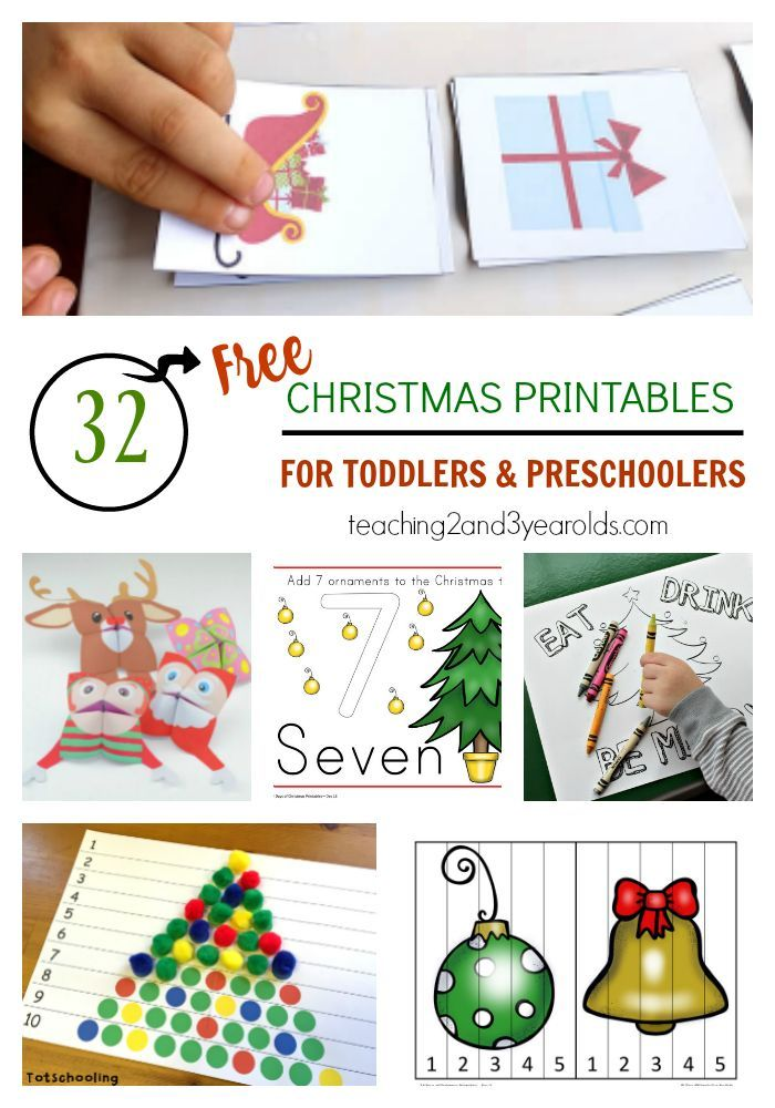 32 Free Christmas Printables For Toddlers And Preschoolers Free Christmas Printables Christmas Worksheets Christmas Learning Christmas worksheets for toddlers age 2