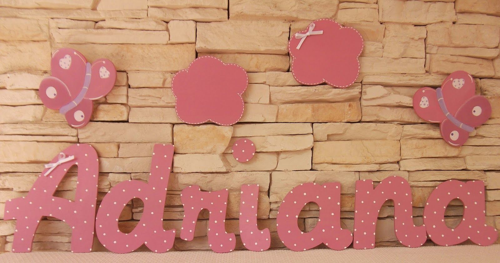 Ideas Para Decorar Letras De Madera Decoración Infantil Pekerines: Letras De Madera Decoradas