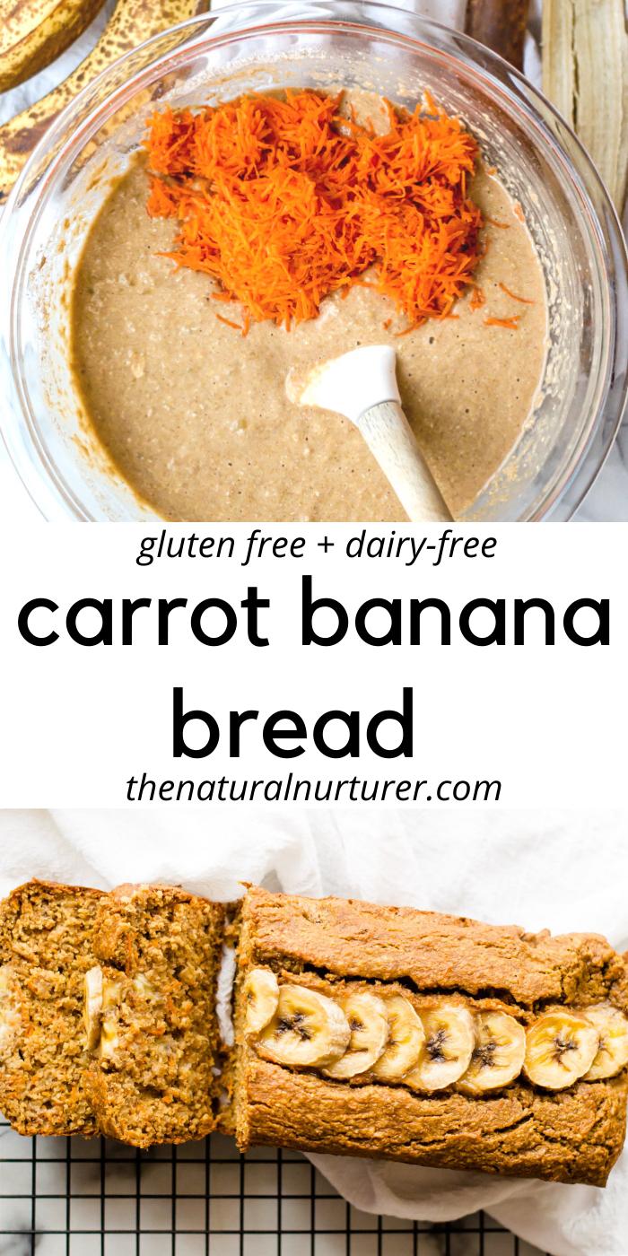 Carrot Banana Bread (gluten free)