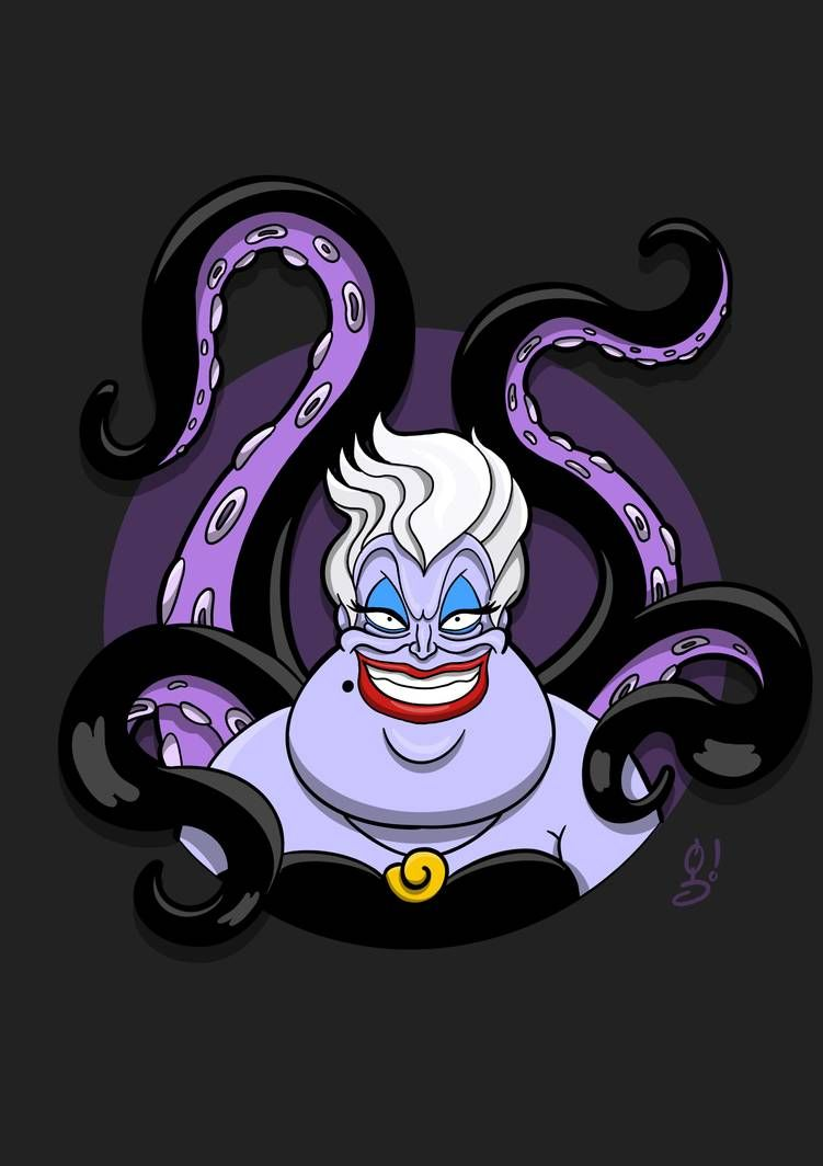 Ursula by https://www.deviantart.com/gonhermo on @DeviantArt