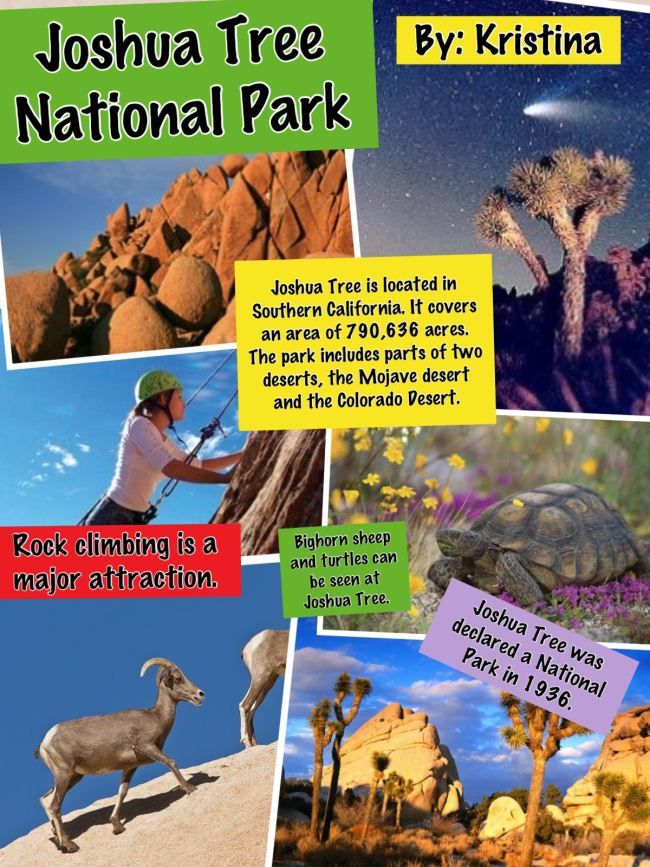 National Parks Story Collage: http://oakdome.com/k5/lesson-plans ...