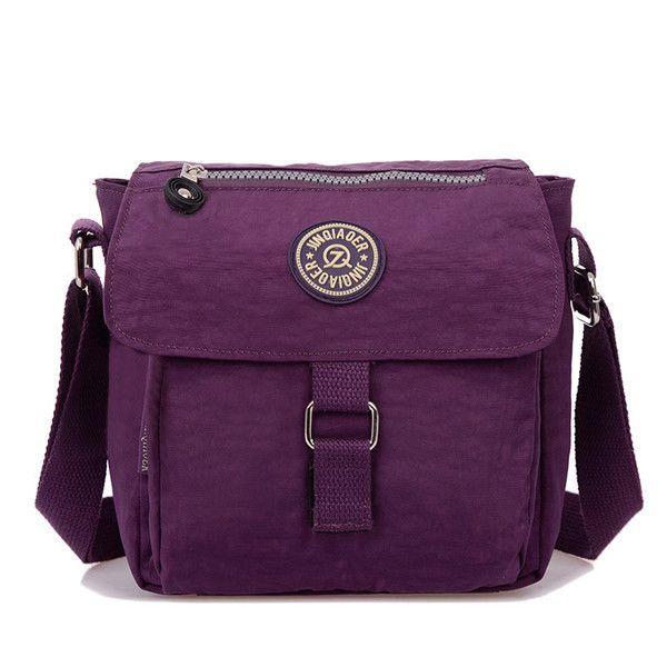 c816cba4ef Sale 11% (15.99 ) - Women Nylon Waterproof Handbag Shoulder Bag Crossbody  Bag