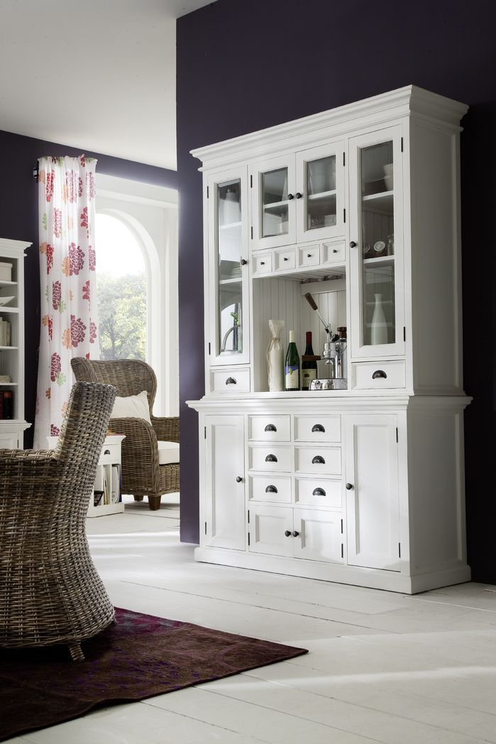 Halifax Kitchen Display Cabinet | Chic and Affordable Living | Pinterest