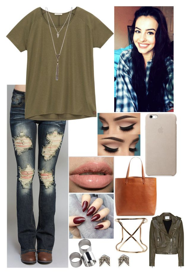 """Untitled #2847"" by nicolerunnels ❤ liked on Polyvore featuring Wet Seal, Lee, MTWTFSS Weekday, Madewell and IRO"