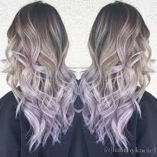 Image Result For Light Purple Hair Tips Blonde Hair Lilac Hair Balayage Hair
