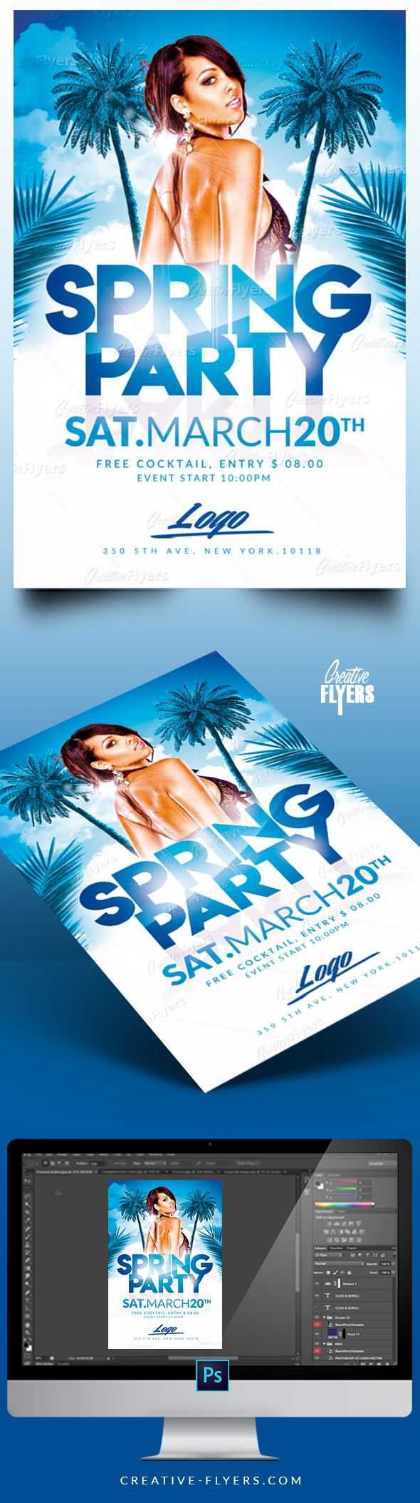 Create Flyers That Stand Out  Spring Flyer Templates Premium