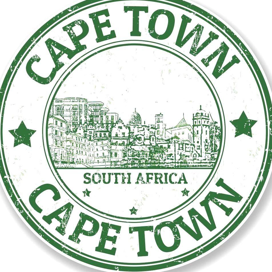 2 X Cape Town South Africa Vinyl Sticker Laptop Travel Luggage 4323 Travel Stamp Cape Town Vinyl Stickers Laptop [ 952 x 952 Pixel ]