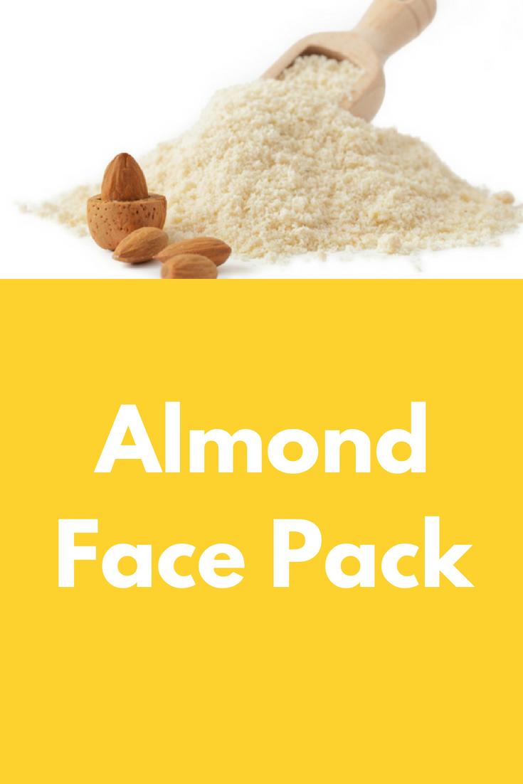Almond Face Pack | Baking soda body scrub Almond oil ...