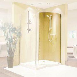 paroi de douche fixe arrondie libert chrome salle de bain pinterest paroi de douche fixe. Black Bedroom Furniture Sets. Home Design Ideas