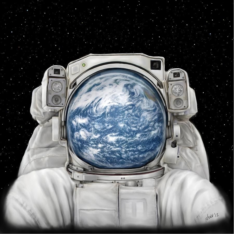 Astronaut - Seeing the earth from outer space must be ...