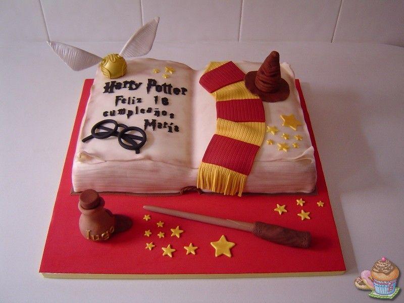Tarta Harry Potter por Marisalas. Fondant. | Recetas de Cocina ...
