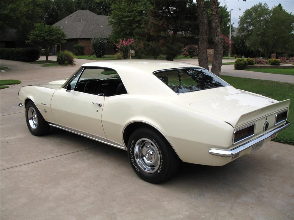 1967 CHEVROLET CAMARO RS COUPE – Barrett-Jackson Auction Company – World's Greatest Collector Car Auctions