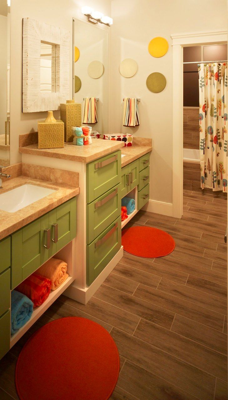Kidus bathroom i love the colors and the flooring home build