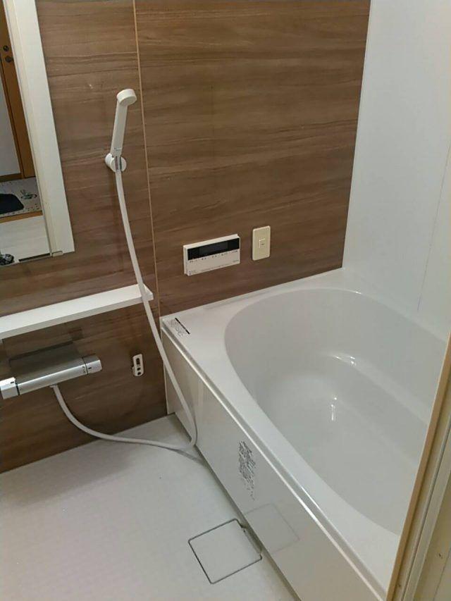 浴室リフォーム ユニットバス lixil リノビオv 浴室