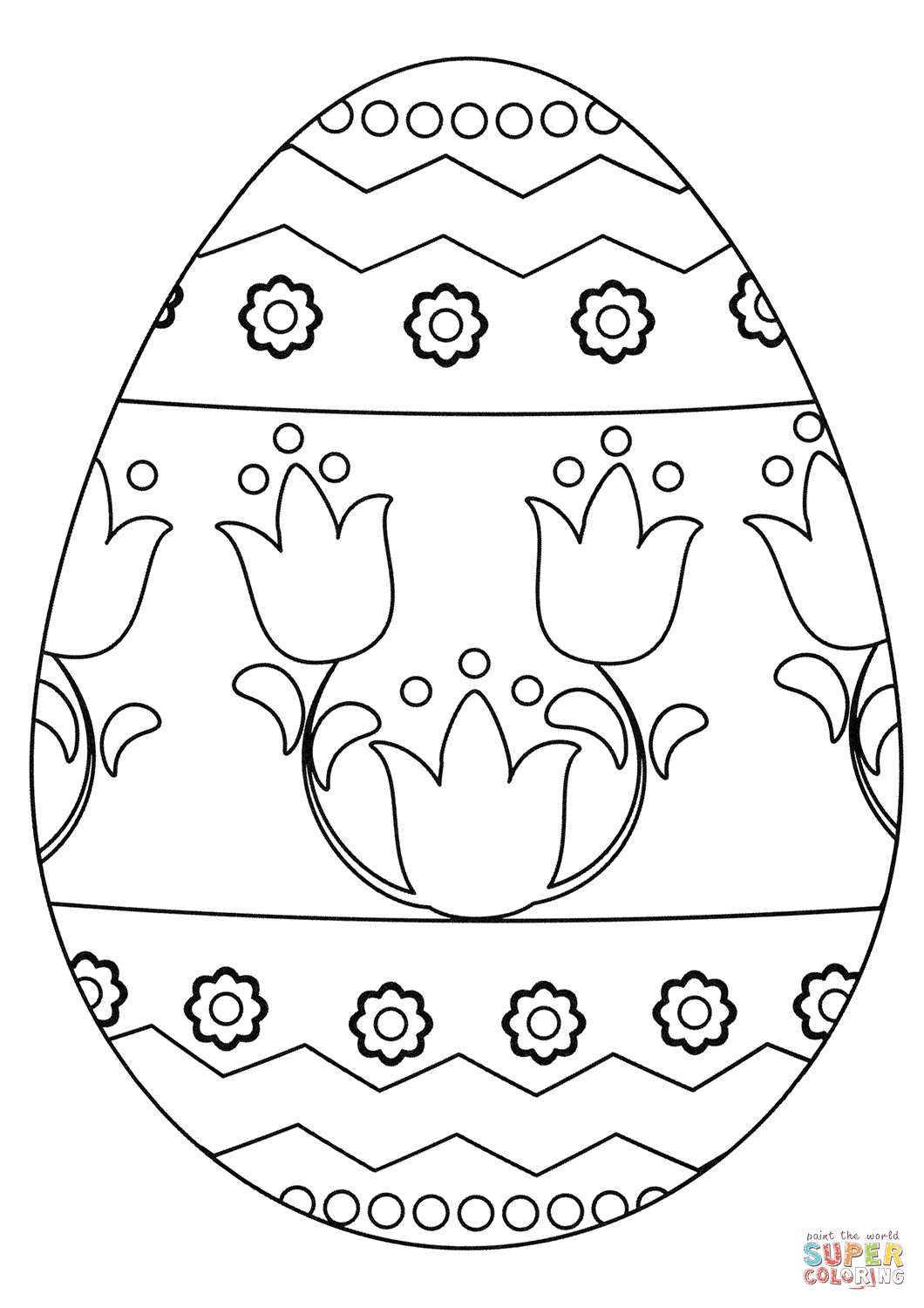 œuf De Paques Super Coloring Easter Coloring Book Easter Bunny Colouring Pattern Coloring Pages