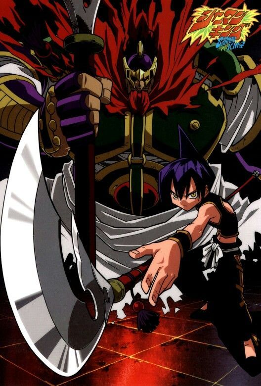 Shaman King Bason And Len Shaman King Shaman King Art