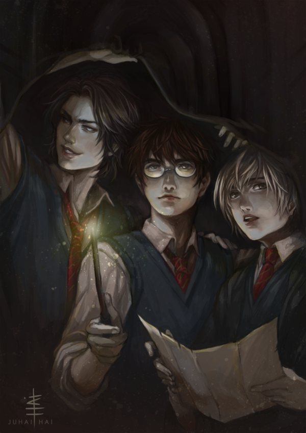 Fanart adulte harry potter