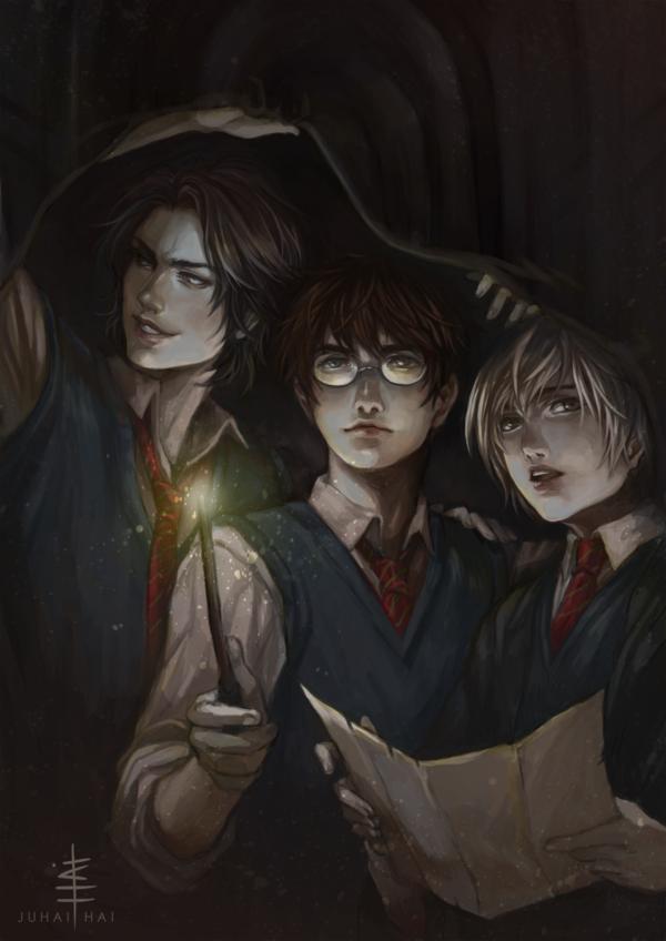 Marauders By Juhaihai On Deviantart Harry Potter Universal