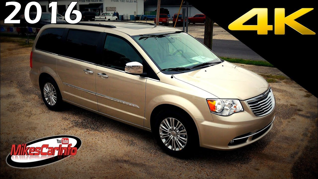 2016 Chrysler Town And Country Touring L Ultimate In Depth Look