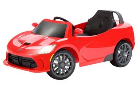 Kidtrax Srt Viper 6 Volt Ride On Car As Low As 94 05 With Target