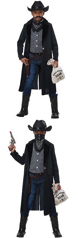 Wild West Sheriff//Outlaw Boys Child Costume