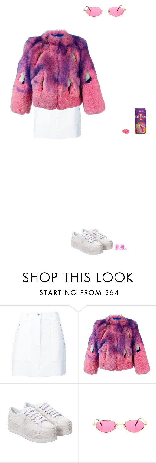 """""""Untitled #413"""" by iris-roijen ❤ liked on Polyvore featuring rag & bone, Liska, Jeffrey Campbell and Gucci"""