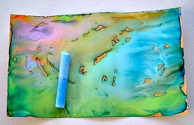 Sand Paper Art