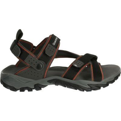 plus bas rabais professionnel de la vente à chaud profiter de prix pas cher quechua sandales Sandale Arpenaz 600 Noir 8328748 ...