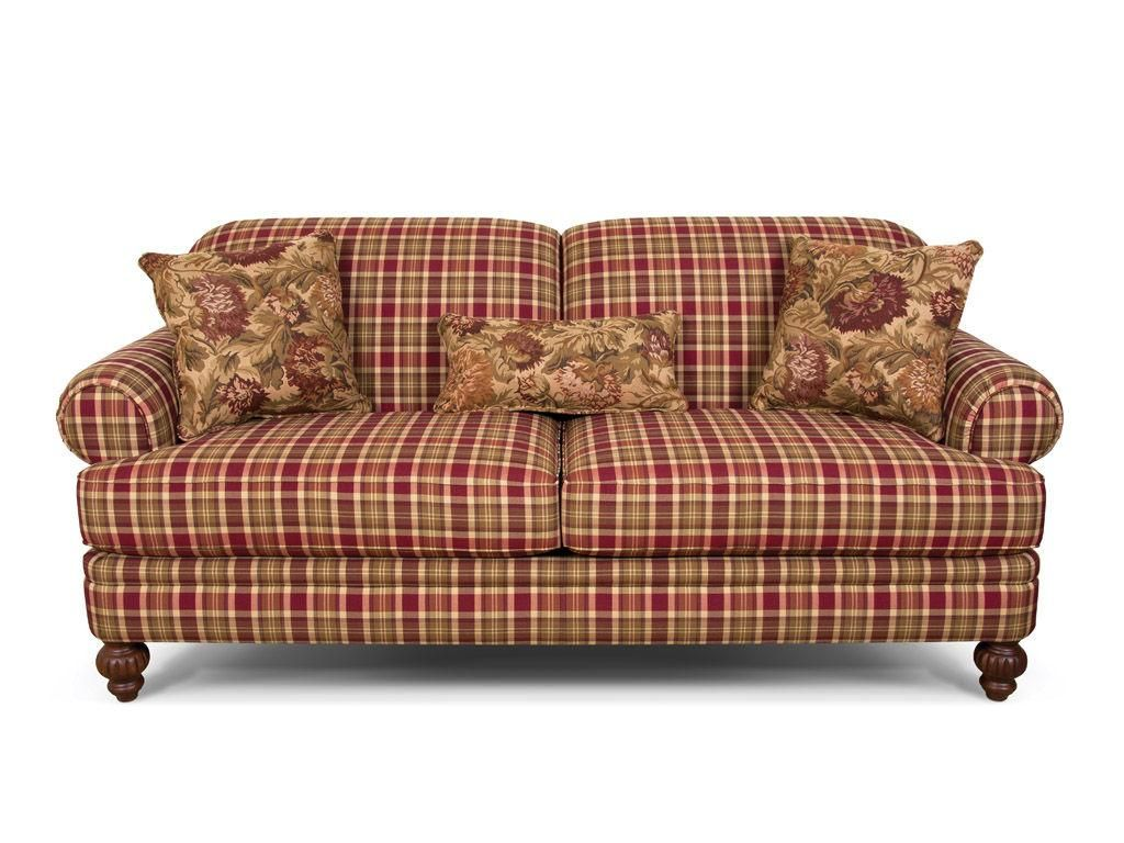 Plaid Sofas Sofa Glamorous Plaid Design For Modern Living