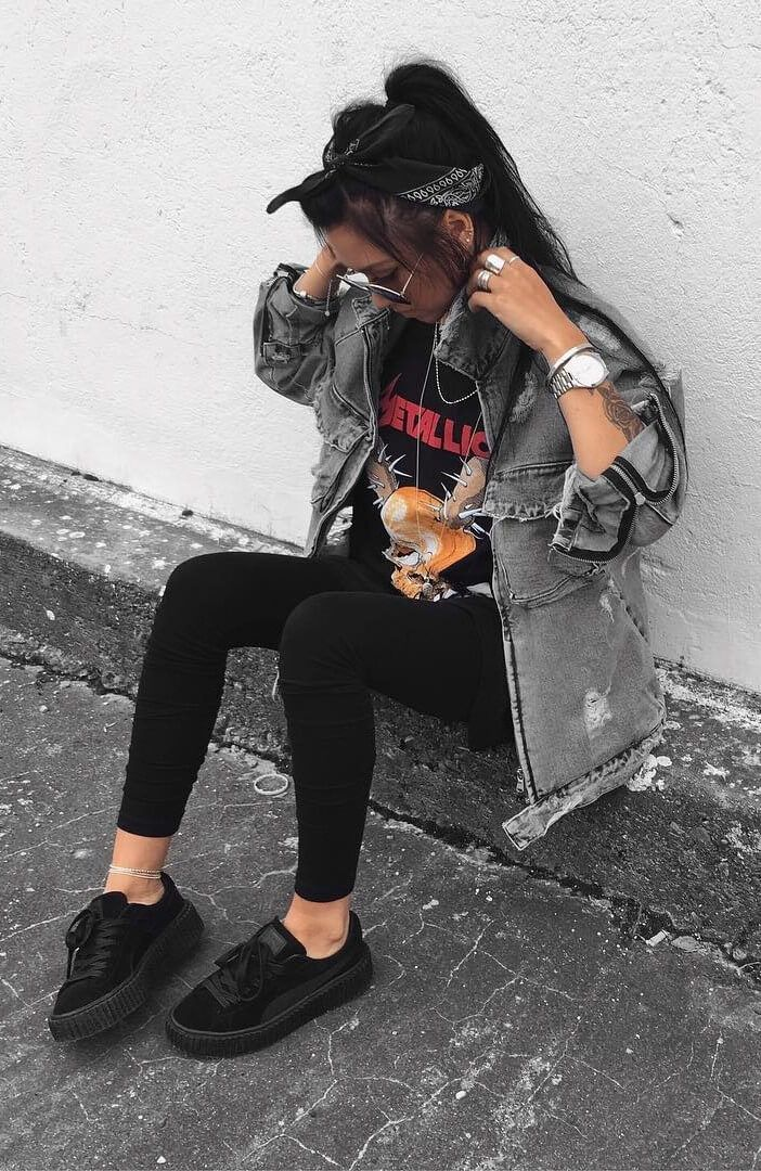 25 More Dark Grunge Looks to Check Out