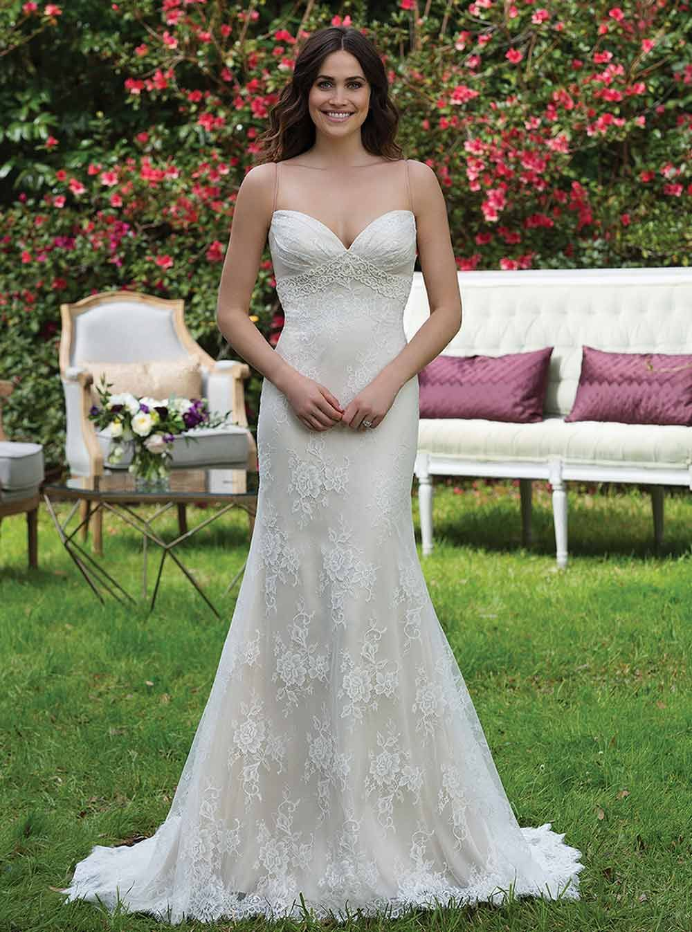 Figure flattering wedding dresses for every type of body shape
