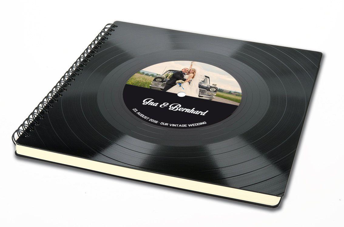 Personalisiertes Hochzeit Gstebuch  Hochzeitsalbum aus